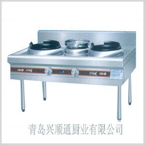厂家直销大量供应优质京式双炒单温灶