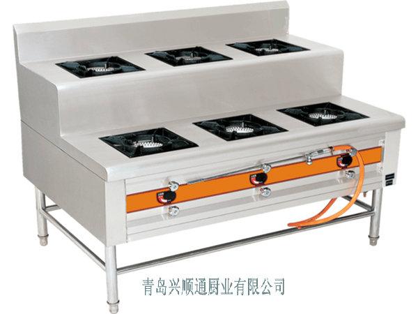厂家直销大量供应、定做、定制、优质梯形六头煲仔炉