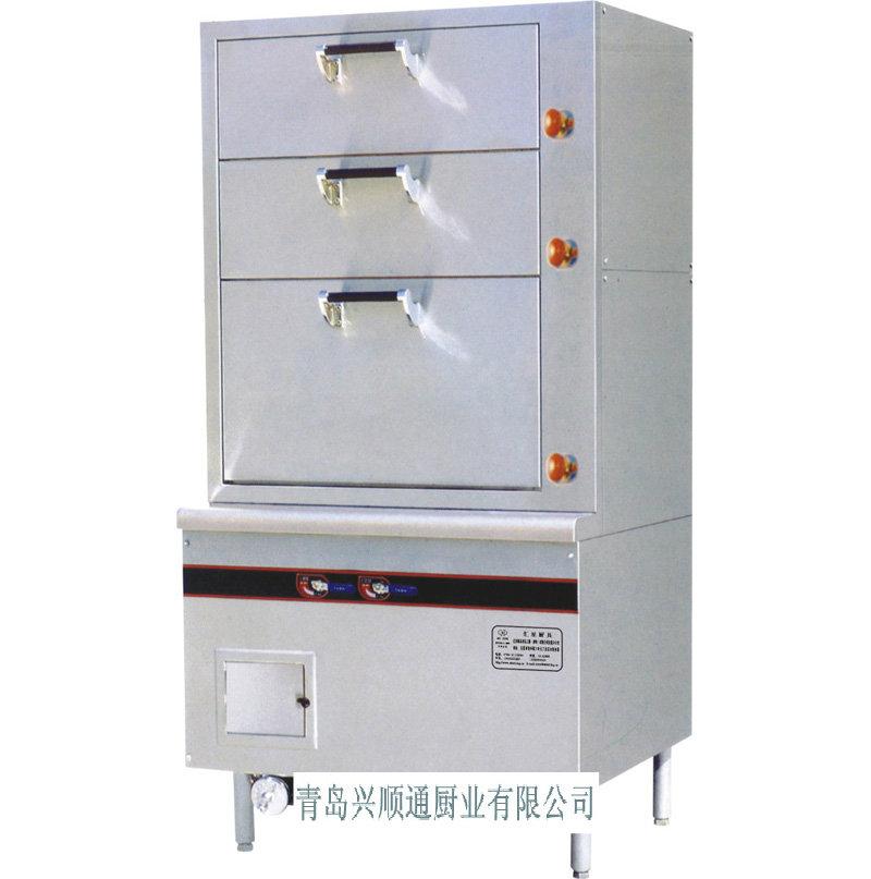 青岛厂家直销大量供应优质三门海鲜蒸柜